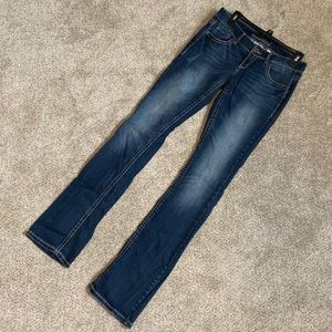 Low Rise Bootcut Jeans from Maurices